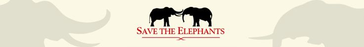 Save the Elephants logo. Save the Elephants Kenya, South Africa, Mali, Gabon & Congo  Founded by Iain Douglas-Hamilton, who pioneered the first in-depth scientific study of elephant social behaviour in Tanzania's Lake Manyara National Park. During the 1970s he investigated the status of elephants throughout Africa and was the first to alert the world to the ivory poaching holocaust. #ivoryforelephants #stoppoaching #elephants for #ivory #killthetrade #animals #savetheelephants