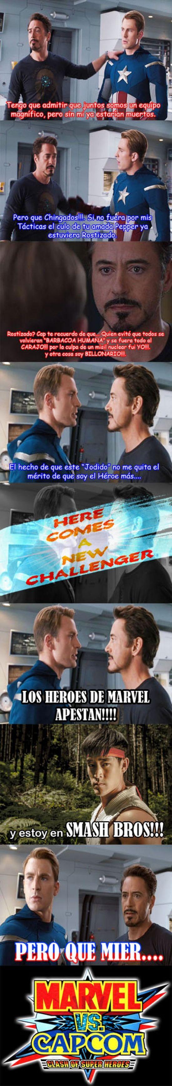 ¡A New Challenger! La Civil War se complica todavía más        Gracias a http://www.cuantocabron.com/   Si quieres leer la noticia completa visita: http://www.estoy-aburrido.com/a-new-challenger-la-civil-war-se-complica-todavia-mas/
