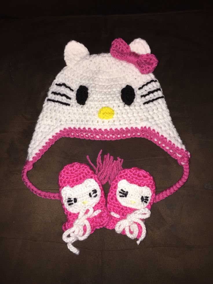 36 best images about My crochet on Pinterest Girl crochet hat, Hello kitty ...
