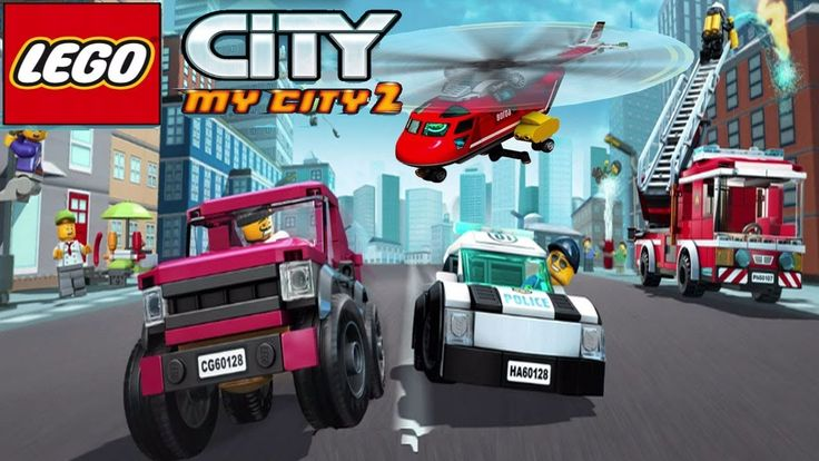 Lego My City 2 Gameplay - LEGO Police. Police Car | LEGO Game Update