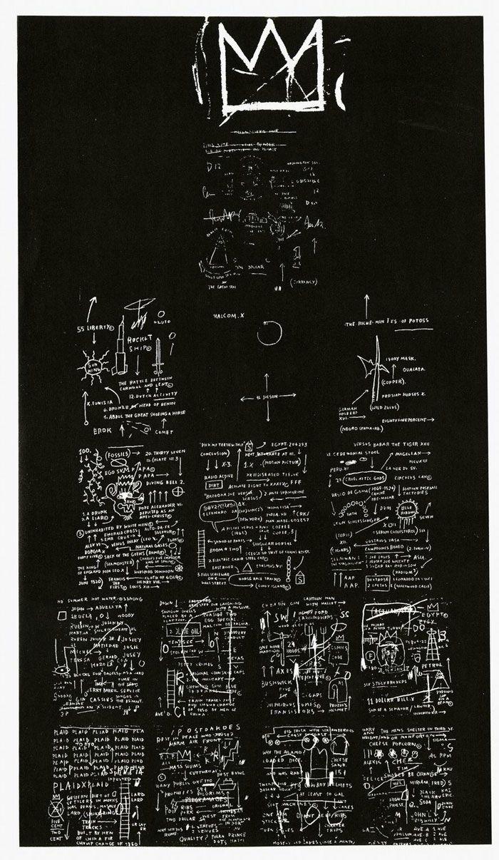 jean-michel-basquiat-crown-.jpg (700×1206) | ---BLACK ...