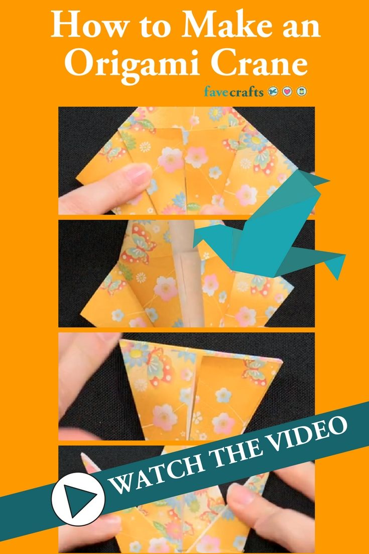 Origami Crane (Román Díaz) - YouTube | 1102x735