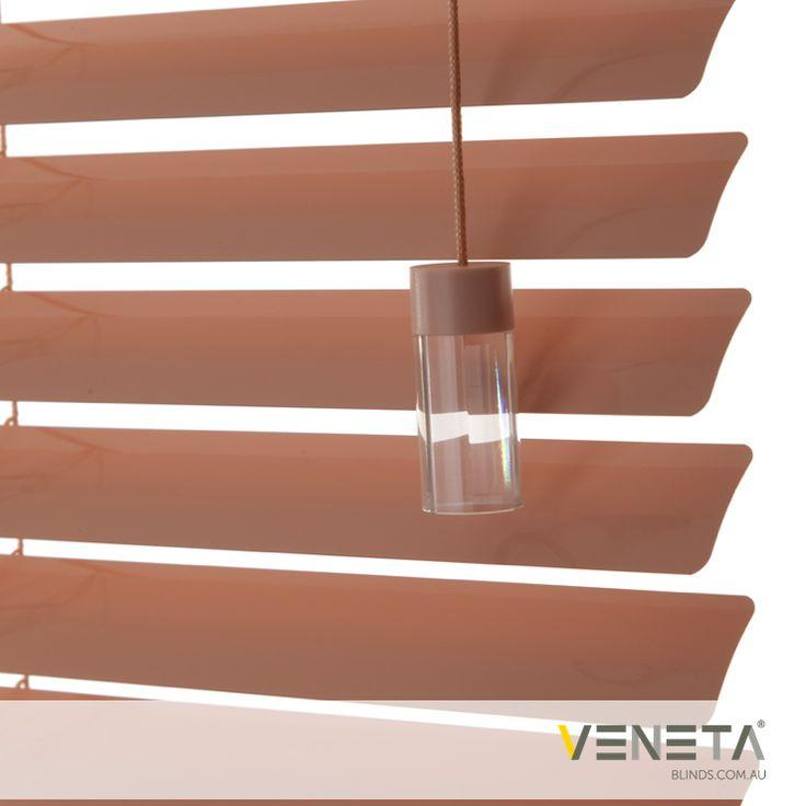 Veneta Blinds : Aluminium Blinds Colour : STRAWBERRY CREAM