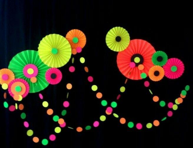 Painel neon