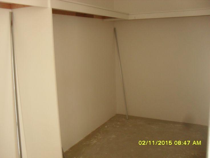 part of the master bedroom wardrobe