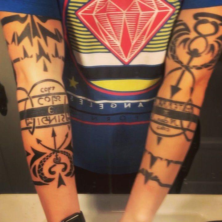 Fullmetal Alchemist Scar Arm Tattoo