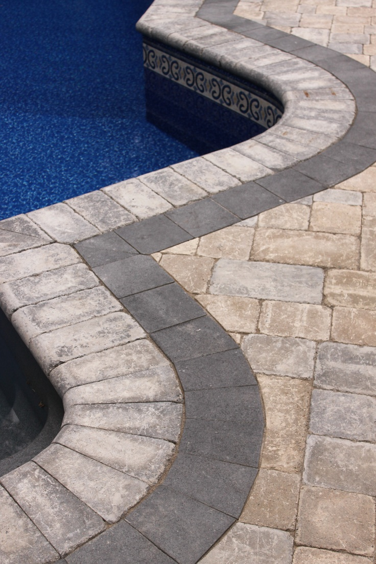 Pool Coping And Patio Interlock.