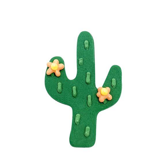 Mini Decoupoir Cactus Vert Biscuit En Forme Fete Anniversaire Et Anniversaire