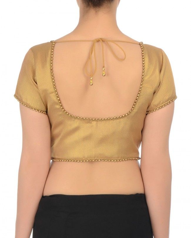 Simple Blouse cutting and stitching in Hindi - mycrafts.com