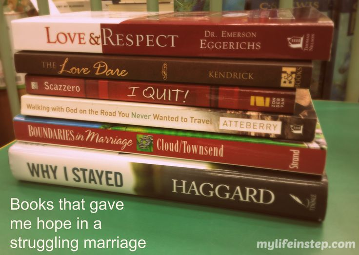 Six books that gave me hope in a struggling marriage