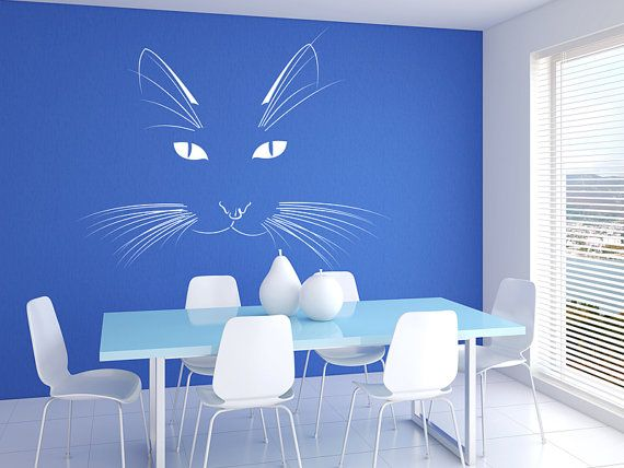 Cat Vinyl Wall Decal Graphics 22x18 By Stickerhog On Etsy
