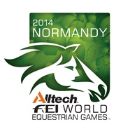 Better polish up on my french.  World Equestrian Games   Normandy 2014