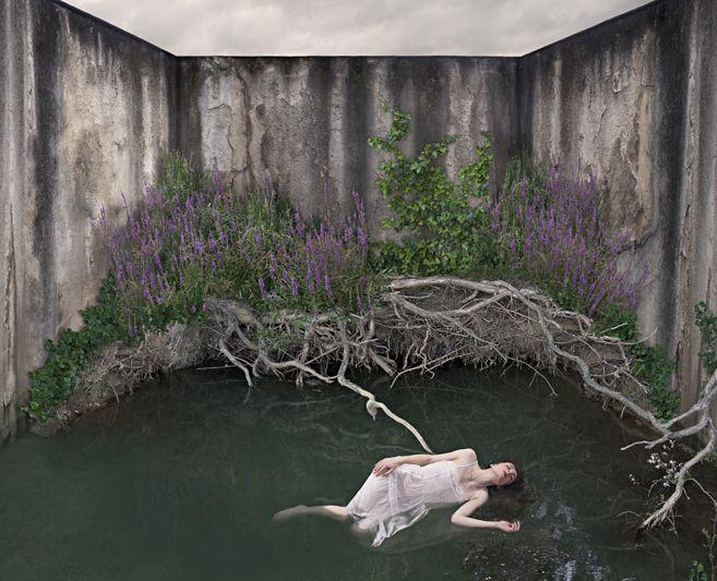 En el silencio XI, 2011. C-print