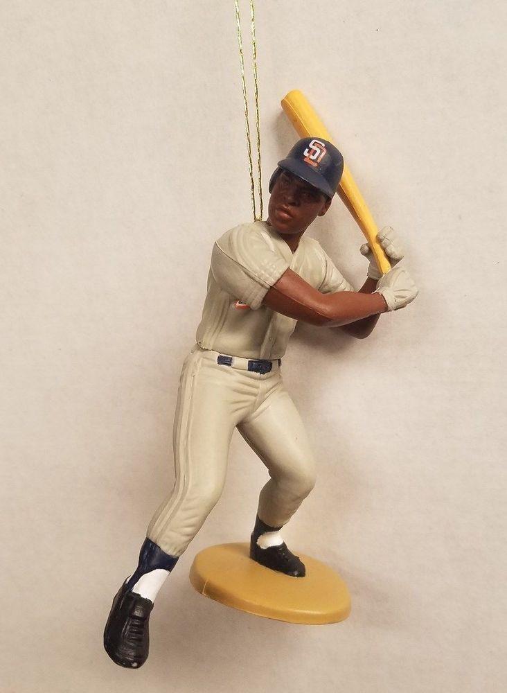 Tony Gwynn San Diego Padres MLB Baseball Christmas Tree Ornament