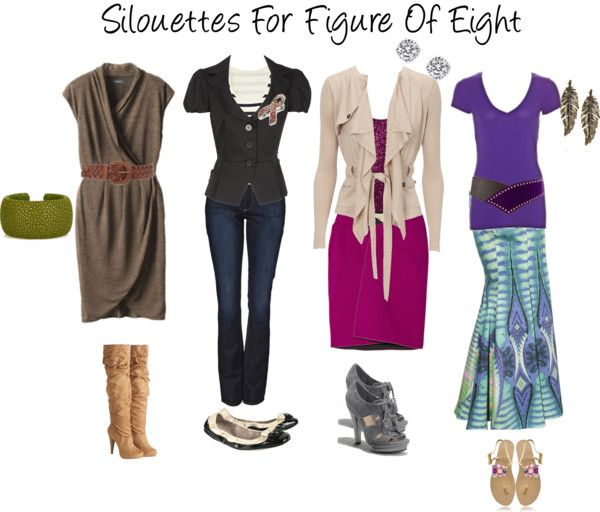 Guest Post - Real Life Dressing a Figure 8 Shape - Inside Out Style