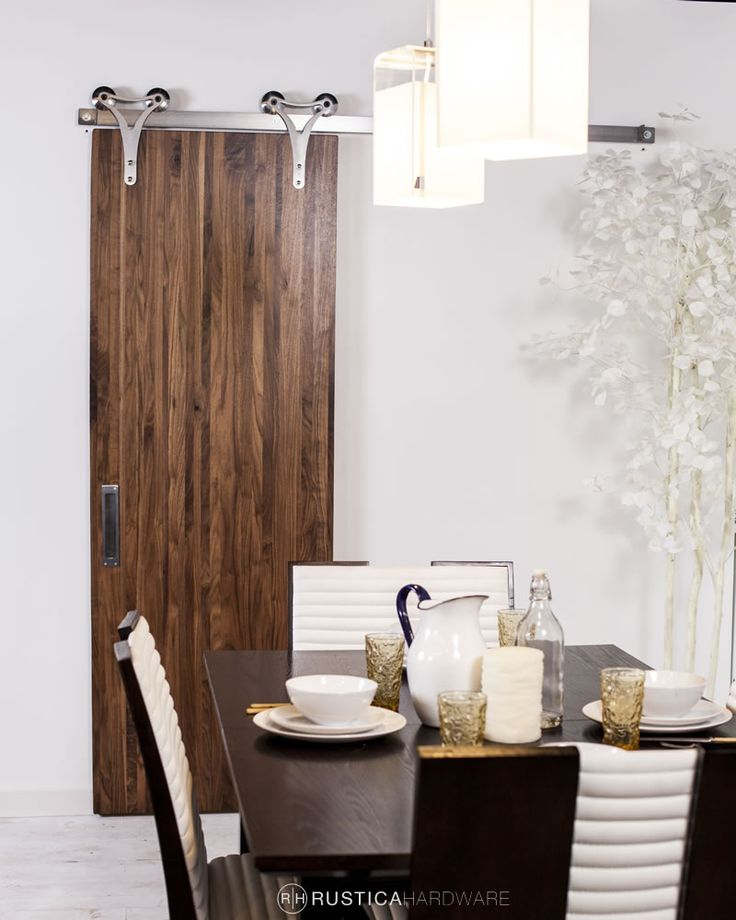 The Modern Looking Triangle Barn Door Hardware Is Designed Around One Of  The Most Basic Geometric Part 77