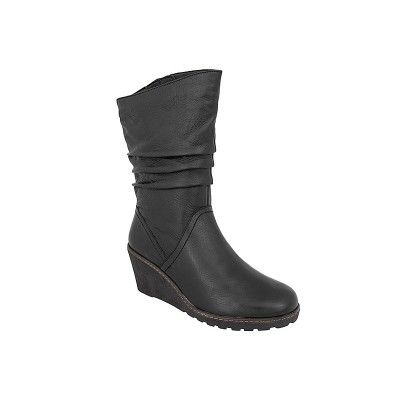 CAPRICE 9-25470-27 - Γυναικείες Μπότες Δερμάτινες