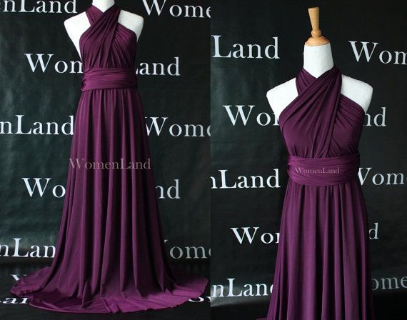 Infinity Dress Convertible Bridesmaid Dress in Dark by WomenLand, $88.00