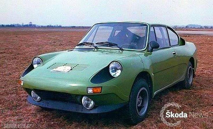 Škoda 739 - r. 1978 - uvažovaná modernizace Škody 130 RS, zdroj skoda-virt.cz