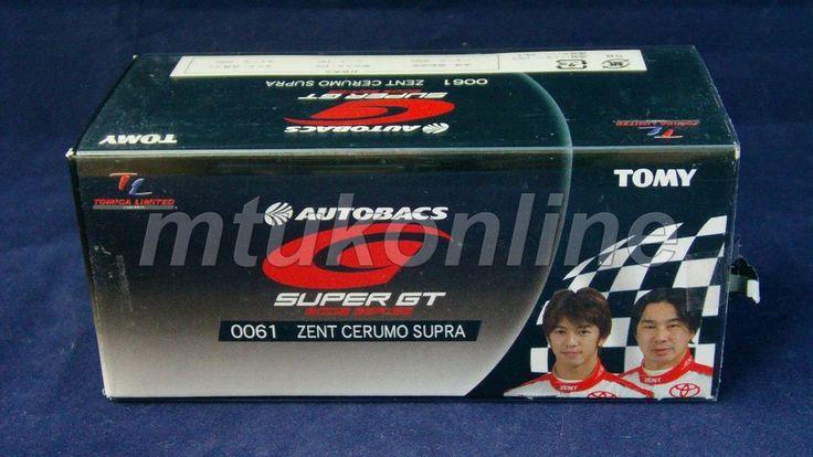 TOMICA TL 61 TOYOTA ZENT CERUMO SUPRA #38 | 75mm | SUPER GT 2005 GT500 CLASS