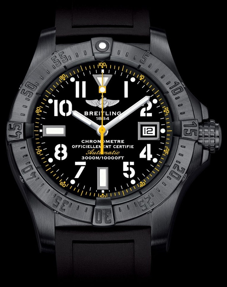 AVENGER SEAWOLF CODE YELLOW relógio em pt.Presentwatch.com