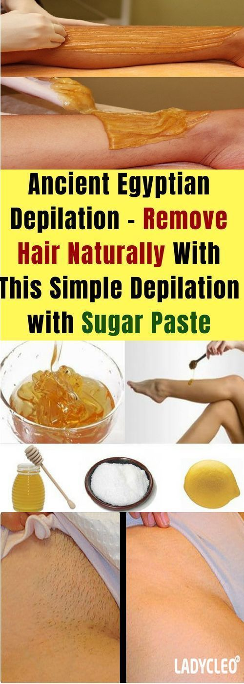 Ancient Egyptian Depilation. Remove Hair Naturally & This Simple Depilation & Su…