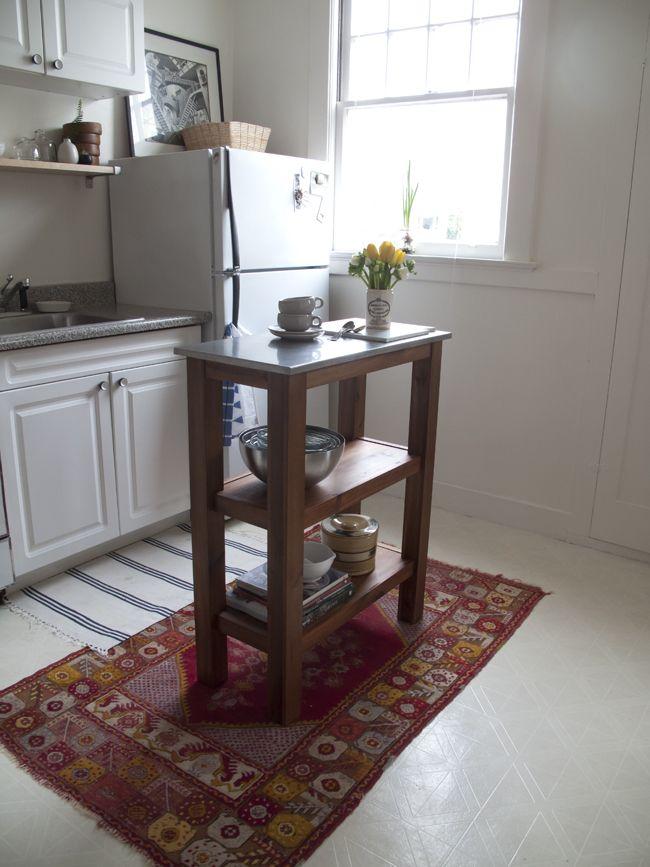 Best Small Kitchen Renovations: 17 Best Ideas About Small Kitchen Islands On Pinterest