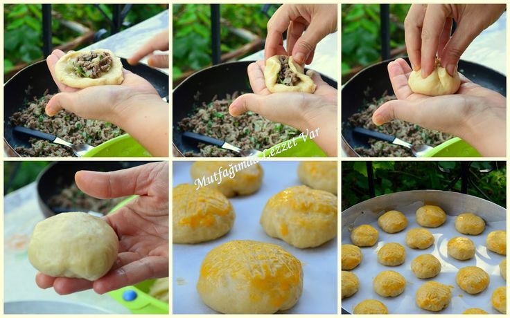 Mutfağımda Lezzet Var: Kıymalı Pastane Poğaçası Tarifi
