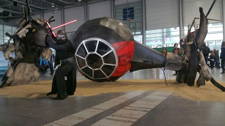 TIE Fighter . Life size model. Made by No Crew