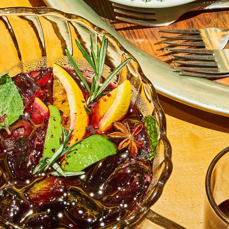 Just because this is an infused mixture of wine, brandy, and orange liqueur doesn't mean you can just throw anything in there and expect it to taste good. Use spirits you'd be happy to sip on their own. This recipe is from Morcilla, one of the Hot 10, America's Best New Restaurants 2016.