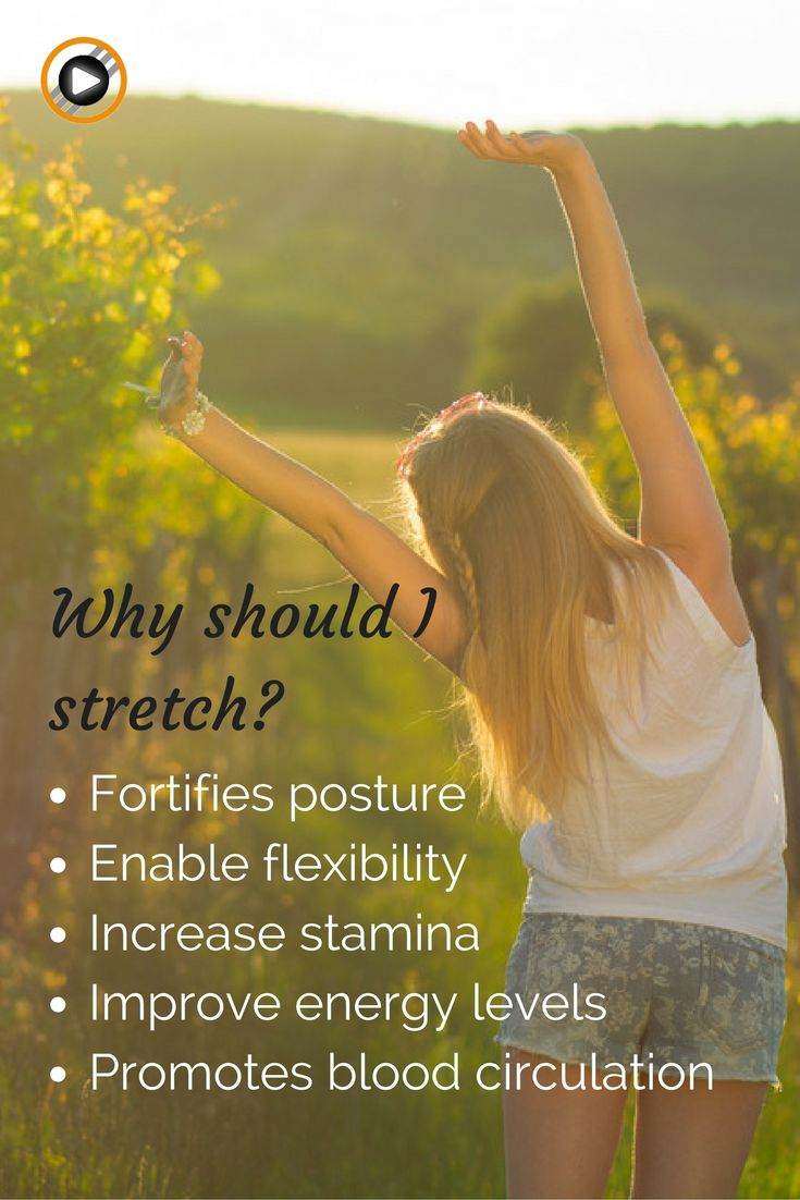 Don't forget to stretch as much as you can during your day! It's the best! Good for your energy levels and your health #stretching #energy