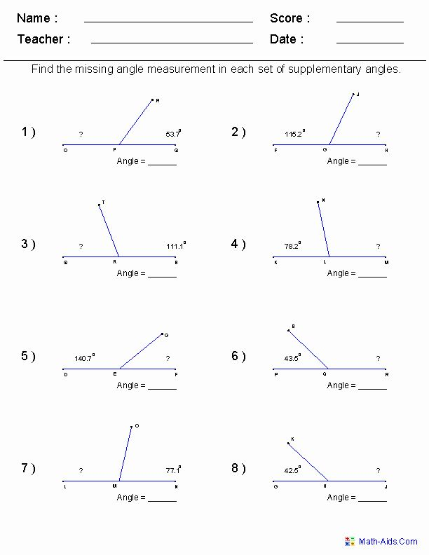 50 Lines And Angles Worksheet Chessmuseum Template Library In 2020 Geometry Worksheets Angles Worksheet Algebra Worksheets