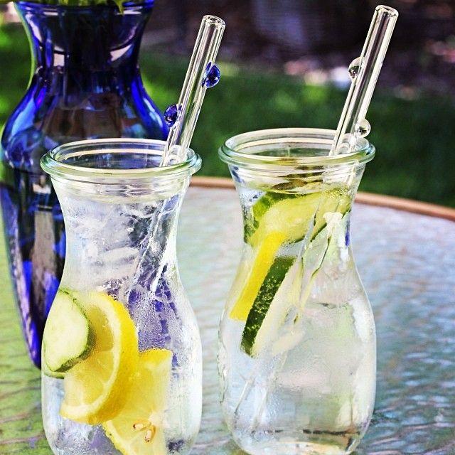 glassdharma's photo  featuring Weck Jars   glass straws!