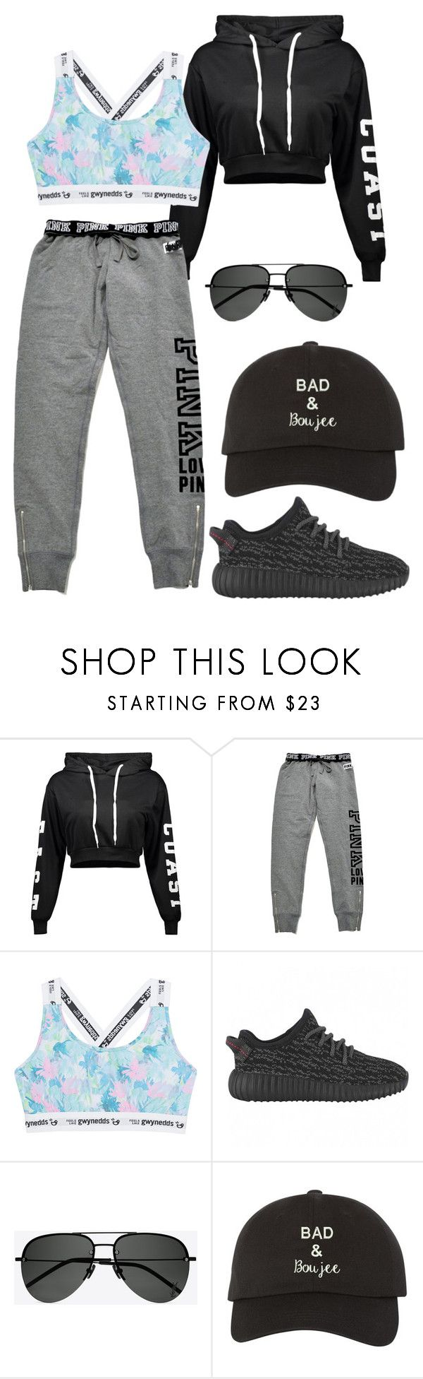 """""""Untitled #24"""" by melanie-selken on Polyvore featuring Victoria's Secret, Gwynedds and Yves Saint Laurent"""