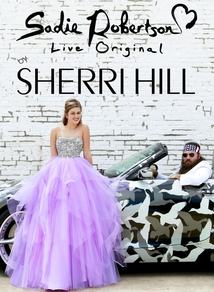Designer Sherri Hill has teamed up with Sadie Robertson of Duck Dynasty to bring a new collection for 2014, Sadie Robertson Live Original. Description from pinterest.com. I searched for this on bing.com/images