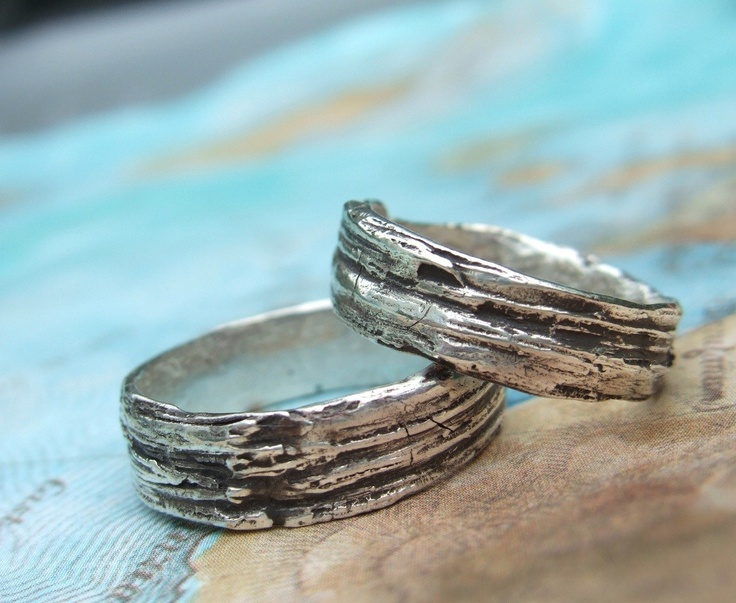 custom wedding rings personalized wedding jewelry his and her matching bands eco friendly - Eco Friendly Wedding Rings