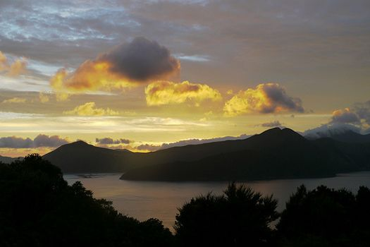 Marlborough Sounds sunset. Photo: Meutmans
