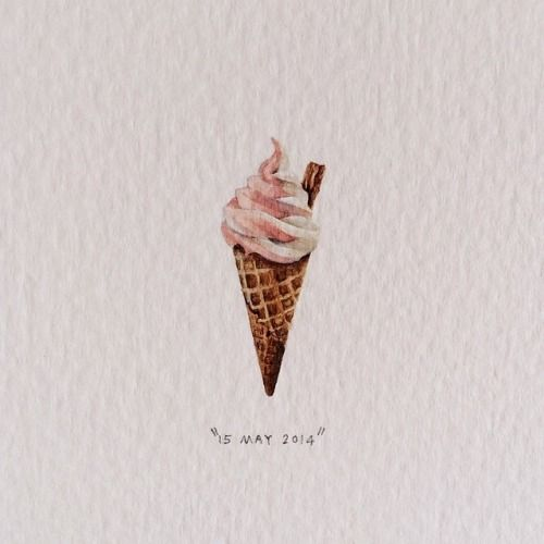 Lorraine Loots, ice cream cone
