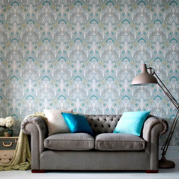Pendleton Green Wallpaper by Graham and Brown