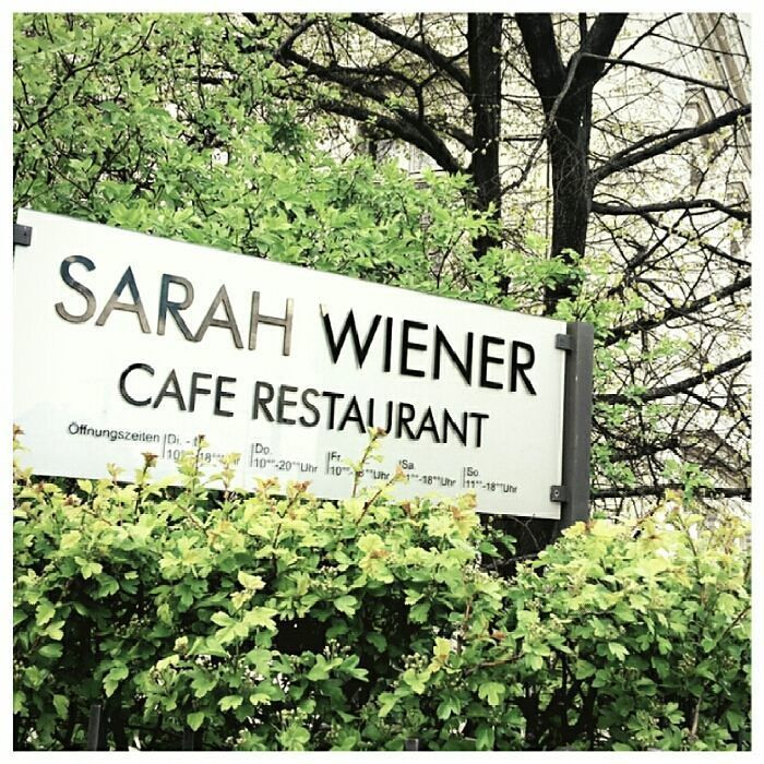 Walking by near the restaurant of one of my favorite chefs Sarah Wiener  She is a german chef and interprets new freshness into  solid kitchen. . . #sarahwiener #walk #cuisine #food #bestoftheday #food #foodporn #yum #instafood #yummy #amazing #instagood #photooftheday #sweet #dinner #lunch #breakfast #fresh #tasty #food #delish #delicious #eating #foodpic #foodie #foodpics #eat #hungry #foodgasm #hot #foods