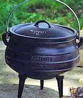 Best Duty Potjie size 3 - 3 legged pot