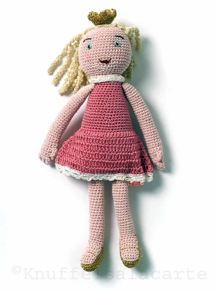 Lovely princess doll by Danish brand Maileg   size: 24 cm