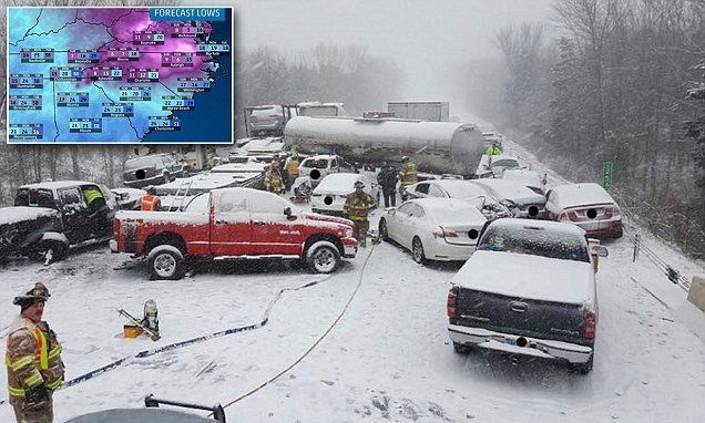 73 million Americans are put under winter storm warning #DailyMail | These are some of the stories. See the rest @ http://www.twodaysnewstand.com/mail-onlinecom.html or Video's @ http://www.dailymail.co.uk/video/index.html And @ https://plus.google.com/collection/wz4UXB