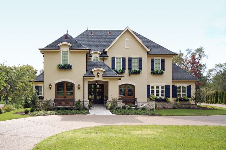 1000+ Ideas About French Country Exterior On Pinterest