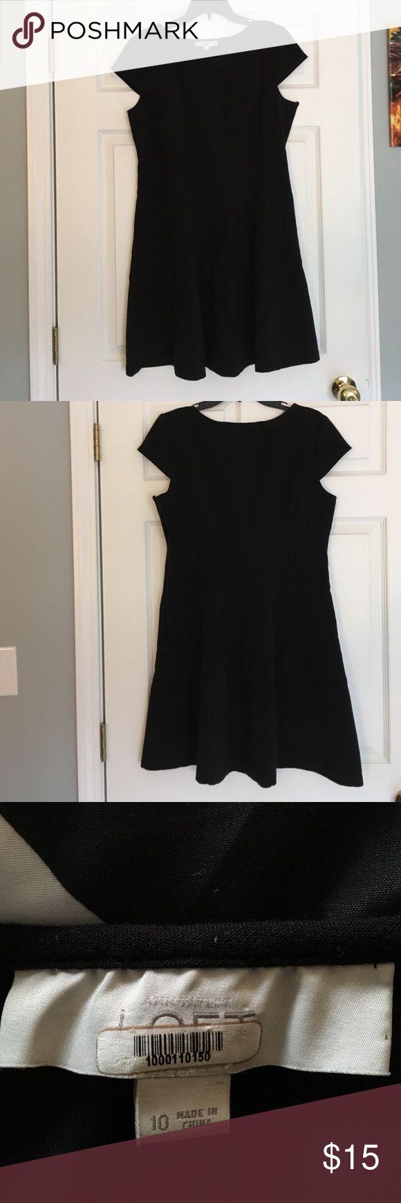 Black Loft Dress Simple black dress from Loft. Size 10. Has signs of wear, although no damage. LOFT Dresses