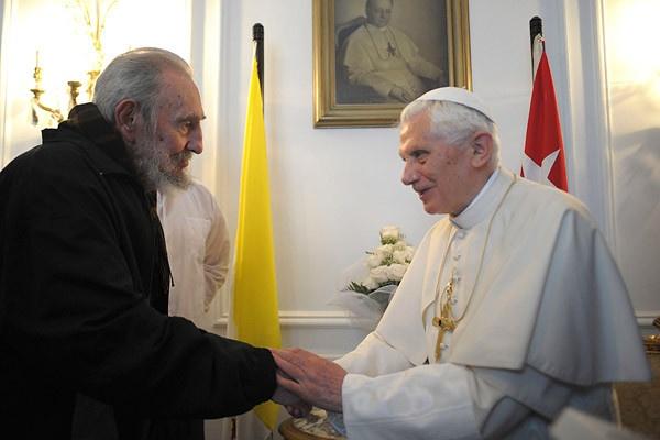 Spotkanie z Fidelem Castro