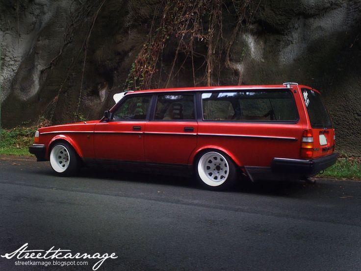 Slammed Volvo Wagon | Volvo Wagon Slammed Wallpaper Background Volvo