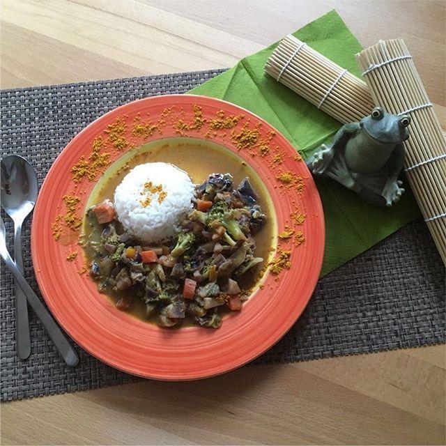 Mein Thai Gemüse Curry mit asiatischer Note!