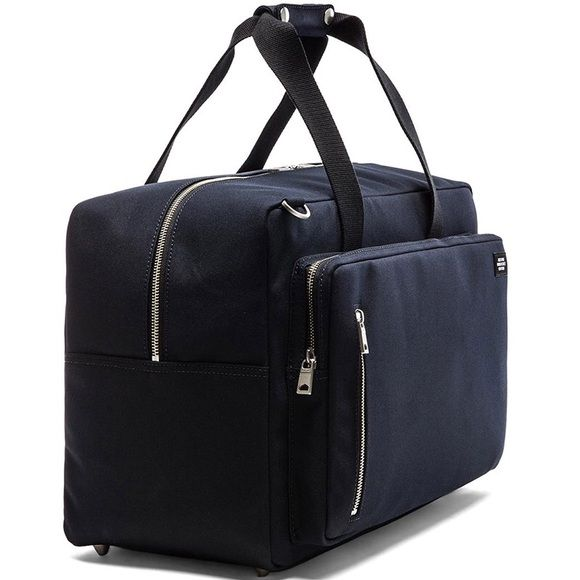 Jack Spade Commuter Black Nylon Duffle Bag See pic 4 for details. PLEASE SUBMIT REASONABLE OFFERS NOTHING UNDER 90% WILL BE CONSIDERED!!! kate spade Bags Travel Bags