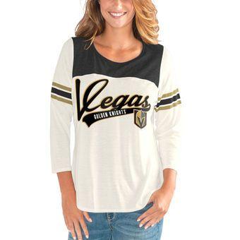 size 40 44cd8 90209 G-III 4Her by Carl Banks Vegas Golden Knights Women's Cream ...